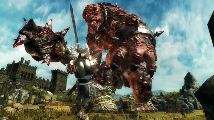 Ascend: Hand of Kul apresenta várias criaturas gigantescas inspiradas em lendas mitológicas (Foto: Divulgação/Signal Studios)