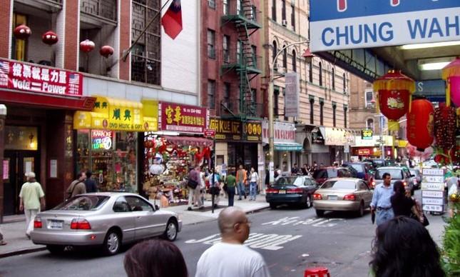 Chinatown, em Manhattan, abriga a maior concentração de chineses no hemisfério ocidental (Foto: Derek Jense)