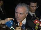 Dilma e Temer se encontram pela primeira vez depois da carta desabafo