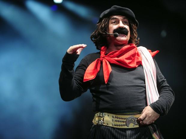 Guri de Uruguaiana se apresentou no palco central do Planeta Atlântida RS (Foto: Vinícius Costa/Agência Preview)