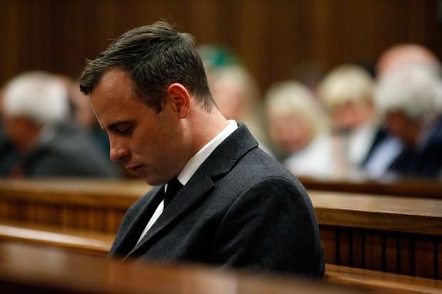 Oscar Pistorius foi condenado a seis anos de prisão (Foto: Pool/Getty Images)