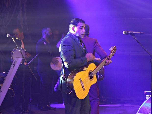 Luiz Carlos afirmou que turnê trouxe vários aprendizados mesmo com anos de carreira com o Raça Negra (Foto: Indiara Bessa)