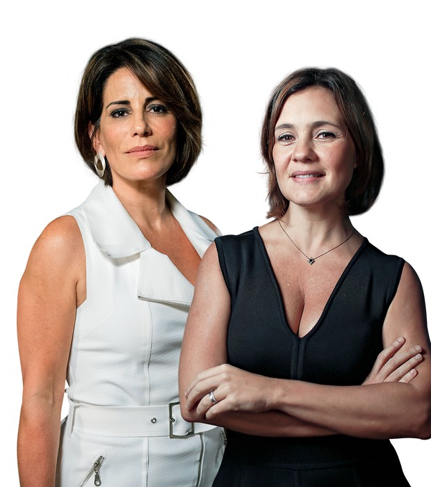 Glória Pires e Adriana Esteves vão viver inimigas mortais na próxima novela do horário nobre da Globo (Foto: Divulgação)
