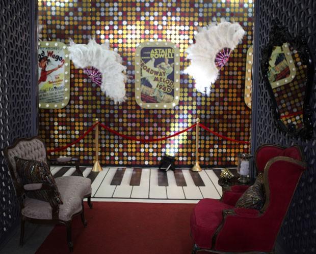Sinta-se dentro da casa do Dança dos Famosos (Foto: Carol Caminha/ TV Globo)