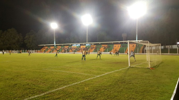 Naviraiense x Corumbaense estádio Virotão (Foto: Divulgação/Corumbaense)