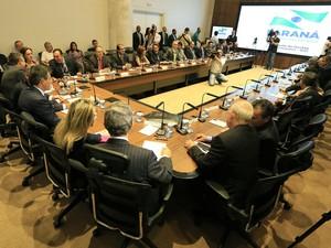 Alto escalão do Governo do Paraná recebrá salários de janeiro e fevereiro neste mês (Foto: Arnaldo Alves/ANPr/ Divulgação)