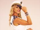 De 'marinheira', Dany relembra carnavais na avenida: 'Eu aproveito mesmo!'