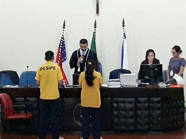 Julgamento aconteceu nesta sexta-feira (1º), em Manaus (Foto: Leandro Guedes/TV Amazonas)