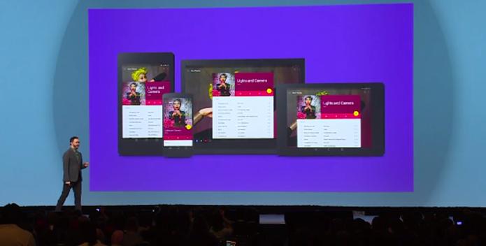 Android L levará novo design e mais novidades a tablets e smartphones com o sistema (Foto: Reprodução/Google)