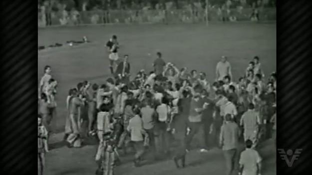Comemoração ao milésimo gol do Rei Pelé (Foto: divulgação)