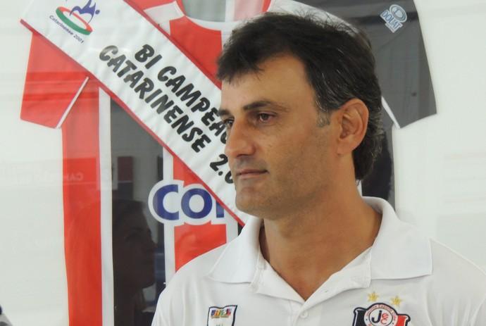 Marcão Joinville preparador de goleiros (Foto: João Lucas Cardoso)
