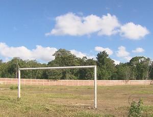 Centro de Treinamento do Santa Cruz (Foto: Reprodução/TV Globo)