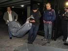 Corpo de Champignon é retirado do prédio onde ele morava em São Paulo