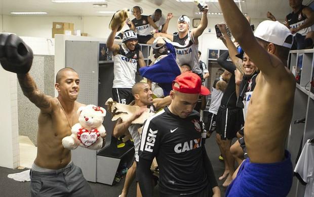 Corinthians harlem shake (Foto: Agência Corinthians)