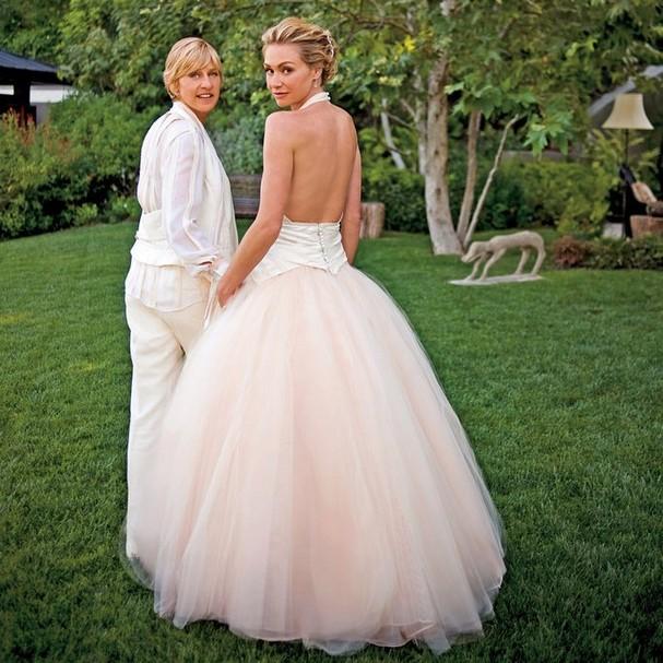 Ellen DeGeneres e a esposa, Portia de Rossi (Foto: Instagram/Reprodução)