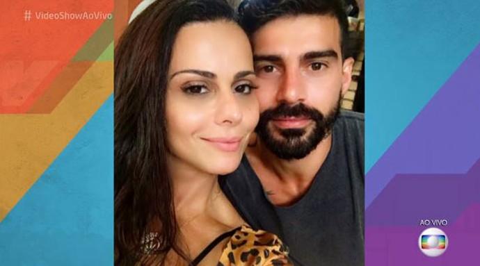 Viviane Araújo e Radamés (Foto: TV Globo)