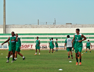 Assu treina para estreia do Campeonato Potiguar (Foto: Divulgação/ Assu)