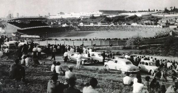 grêmio inauguração 1954 olímpico (Foto: Arquivo do Memorial Hermínio Bittencourt)