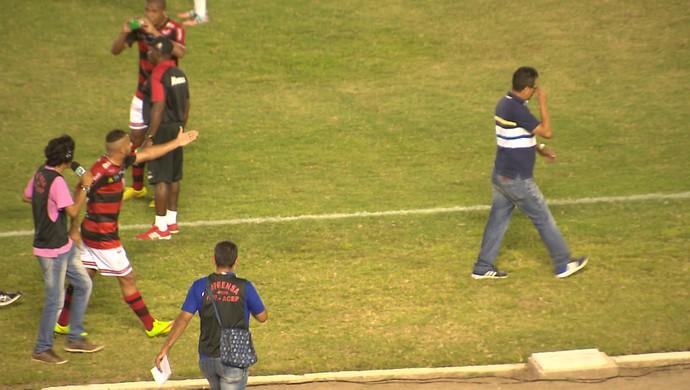 Adalgiso Pitbull, Francisco Diá, Campinense, Treze (Foto: Reprodução / TV Paraíba)