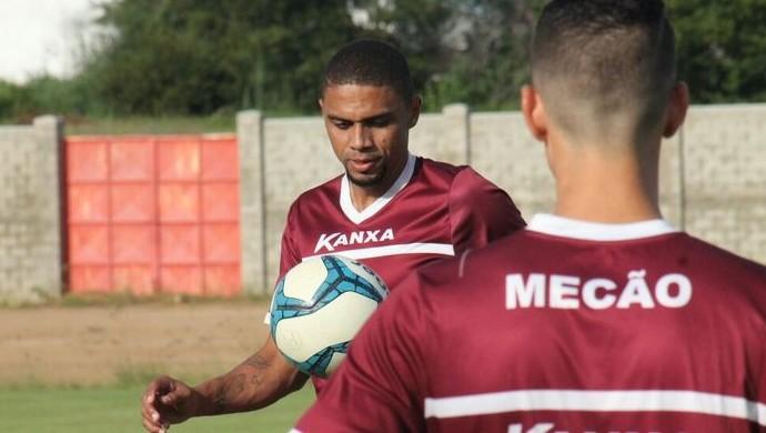 Cleyton zagueiro América-RN (Foto: Canindé Pereira/Divulgação)