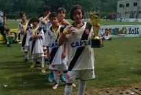 Aos 10 anos, amapaense brilha com a camisa 10 do Vasco (Claudio Sousa/Arquivo Pessoal)