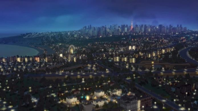 Mesmo com mínimos upgrades nos gráficos, Cities XXL ainda impressiona com as variações climáticas (Foto: Divulgação)