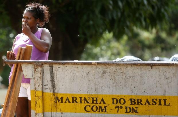 Rosa dos Santos ritiene che rifiuti di mangiare nella marina: i resti di un Crayon (Foto: Celso Junior / ORA)