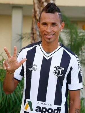 Ciel, atacante do Ceará (Foto: JL Rosa/Agência Diário)