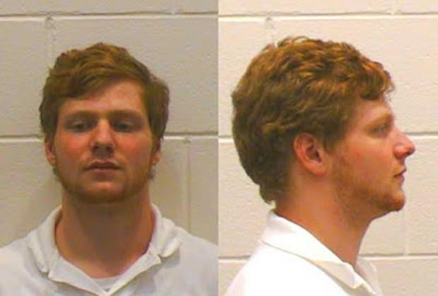 Blake Leland Zengo foi preso ao 'contaminar' bar com spray de pum (Foto: Athens-Clarke County Police)