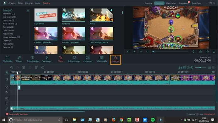 Grave o seu vídeo para assistir no PC ou enviar para o YouTube (Foto: Reprodução)