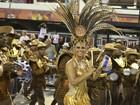 Elenco de 'Império' grava na Sapucaí