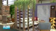 Arquitetos investem em estilo sustentável em mostra de decoração