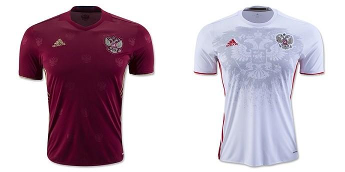 Camisas Eurocopa russia