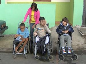 Adolescentes com distrofia Juiz de Fora (Foto: Reprodução/TV Integração)
