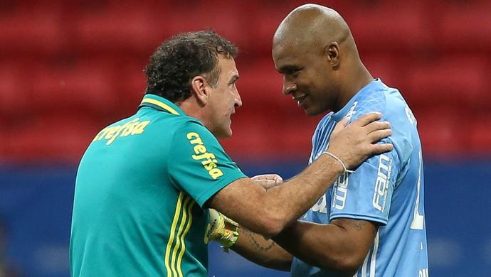 Cuca Jailson Palmeiras Fluminense (Foto: Cesar Greco/Ag Palmeiras/Divulgação)