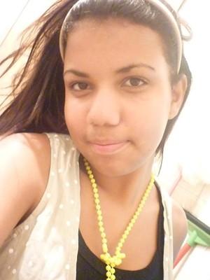 Gessica Guedes, uma das vítimas da chacina na Escola Tasso da Silveira, em Realengo (Foto: Kelly Guedes/ Arquivo pessoal)