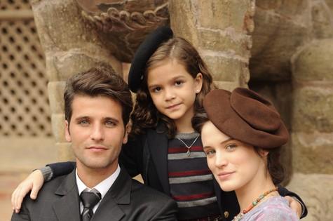 Bruno Gagliasso, Bianca Bin e Mel Maia (Foto: Renato Rocha Miranda/ TV Globo)