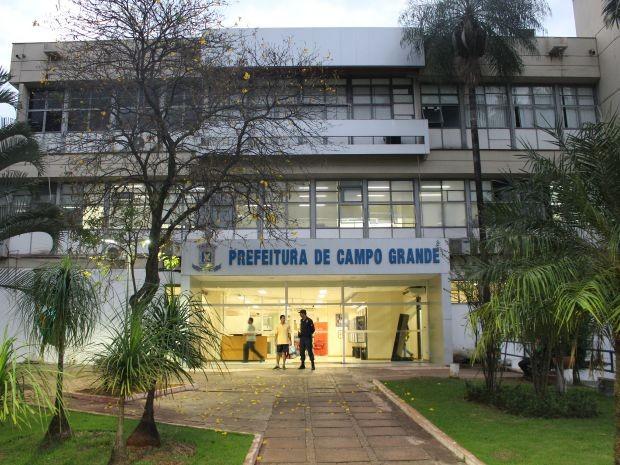 Prefeitura de Campo Grande (Foto: Adriel Mattos/G1 MS/arquivo - 18.08.2015)