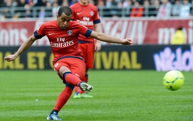 Lucas PSG x Troyes francês (Foto: AFP)