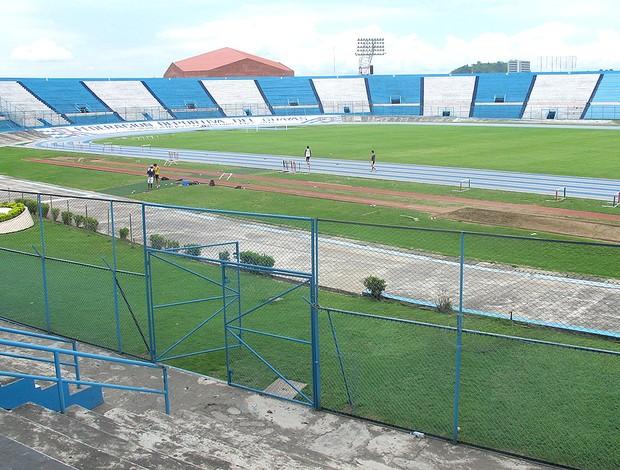 Estádio Modelo de Guayaquil jogo Flamengo (Foto: Richard Souza / Globoesporte.com)