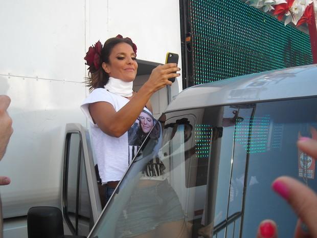 Ivete Sangalo (Foto: Lílian Marques/G1)