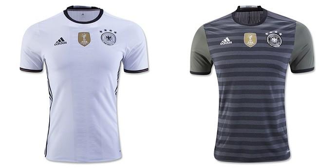Camisas Eurocopa alemanha