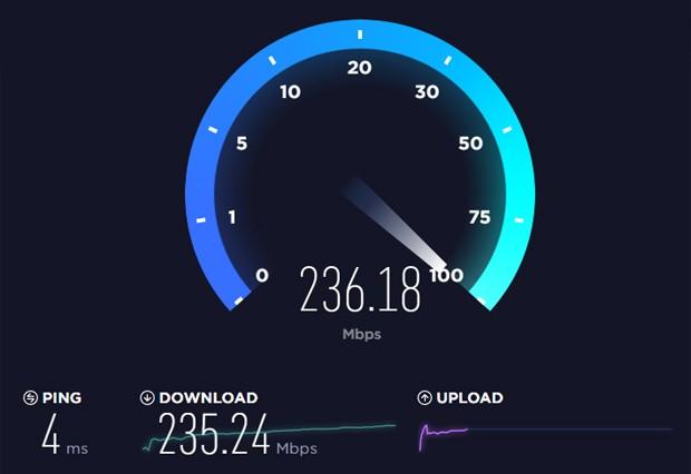 Speedtest (Foto: Reprodução)