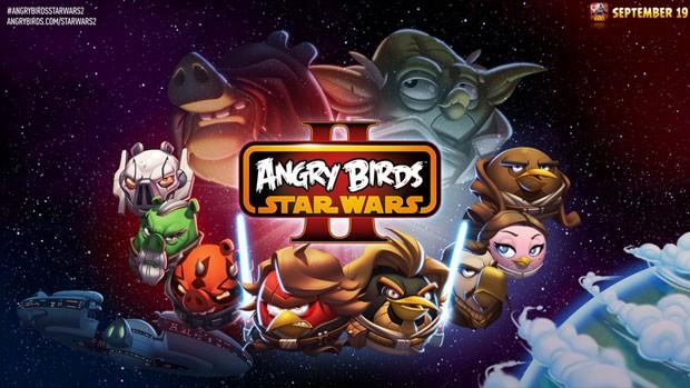 'Angru Birds Star Wars II' chega em 19 de setembro aos tablets e smartphones (Foto: Divulgação/Rovio)