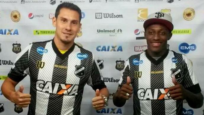 Adriano Alves e Rafael Silva - ABC (Foto: Divulgação ABC)