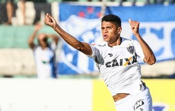 """Douglas Santos: desfalque no Galo para servir a Seleção """"não preocupa"""""""