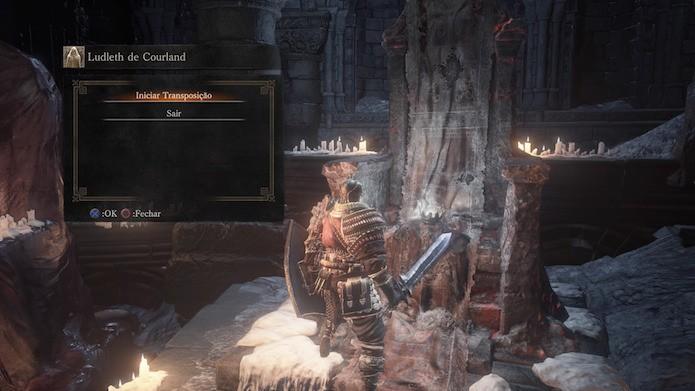 Dark Souls 3: etapa de transposição consome a alma do boss em troca de item (Foto: Reprodução/Victor Teixeira)