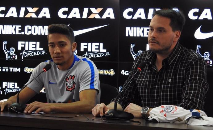 Jean Eduardo Ferreira Corinthians (Foto: Diego Ribeiro)