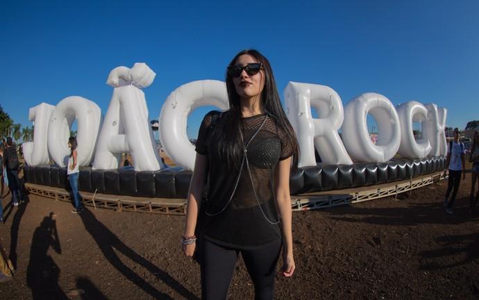 Érica Marques no João Rock 2016 (Foto: Mateus Rigola/Gshow)