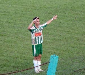 Artilheiro Tety agradece apoio da torcida do Tocantinópolis (Foto: Arquivo Pessoal)